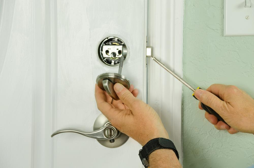 The best lock is a deadbolt that's properly installed